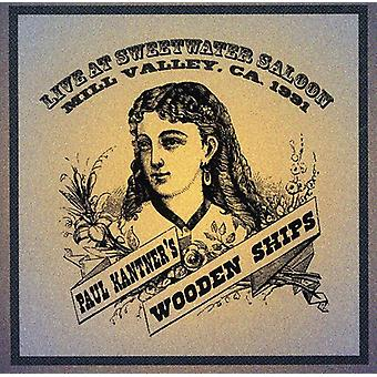 Paul Kanter & Wooden Ships - Live at Sweetwater Saloon 1991 [CD] USA import
