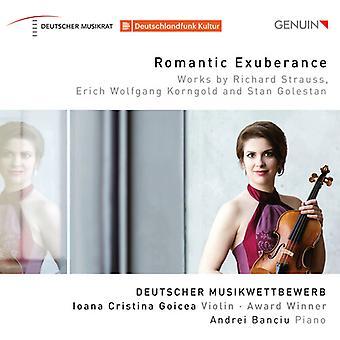 Romantic Exuberance [CD] USA import