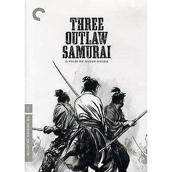 Three Outlaw Samurai [DVD] USA import