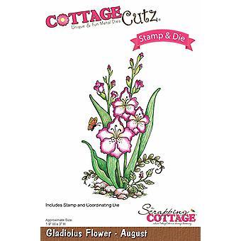 Scrapping Cottage CottageCutz Gladiolus Flower - August