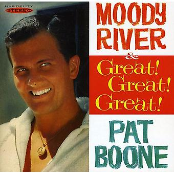 Pat Boone - Moody River/Great! Great! Gr [CD] USA import