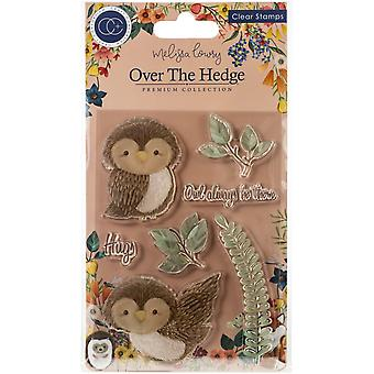 Craft Consortium Olivia the Owl Clear Stamps