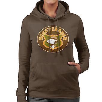 Orzeszki ziemne Snoopy Scout Leader Bluza z kapturem