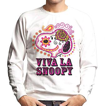 Erdnüsse Viva La Snoopy Men's Sweatshirt