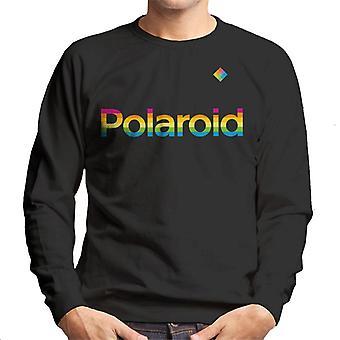 Polaroid Rainbow Logo Homme-apos;s Sweatshirt