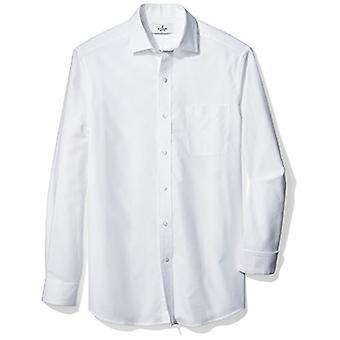 BUTTONED DOWN Männer's Klassische Fit Supima Baumwolle Spread-Collar Strukturierte Kleid Ca...