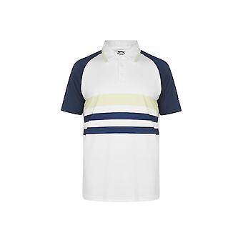 سلازينجر جولف بولو قميص الرجال