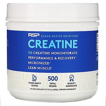 RSP Nutrition, Creatine Monohydrate Powder, 5 g, 17.6 oz (500 g)