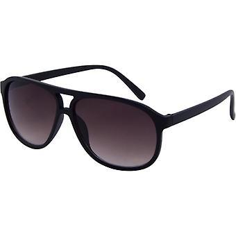 Sunglasses Unisex BASIC Kat. 3 matt black/brown (152-A)