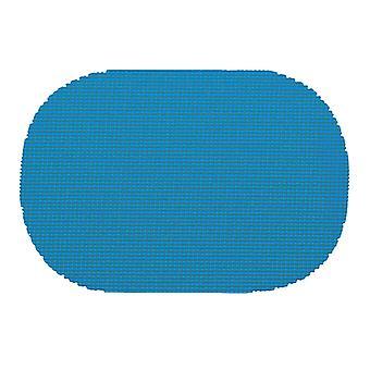 Processus de résille Bleu Ovale Placemat Dz.
