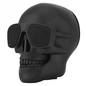Skull Shape Design, Wireless Bluetooth Speaker-enhanced Bass, Support Tf-card