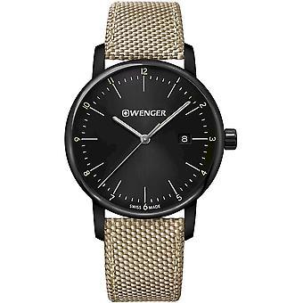 Wenger - Wristwatch - Unisex - Urban Classic - 01.1741.138 - black, 42 mm
