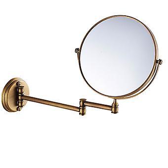 Mässing Väggmonterad spegel