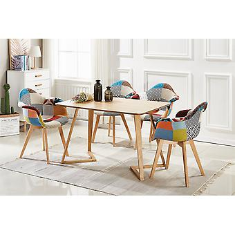 Tulpe Patchwork Dallas Dining Set