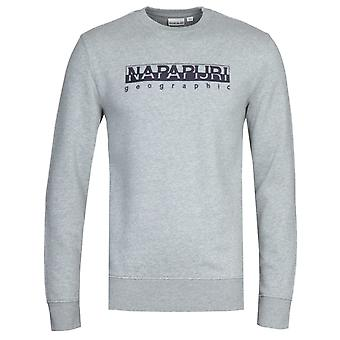 Napapijri Bebel Grey Crew Neck Sweatshirt