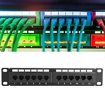 Utp Cat6a 12port Network Cable Rack Without Bracket