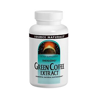 Source Naturals Green Coffee Extract Energizing, 500 mg, 60 tabs
