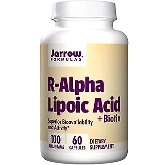 Jarrow Formulas R Alpha Lipoic Acid with Biotin, 60 vcaps