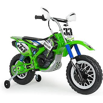 Licensed injusa kids motorbike kawasaki thunder green