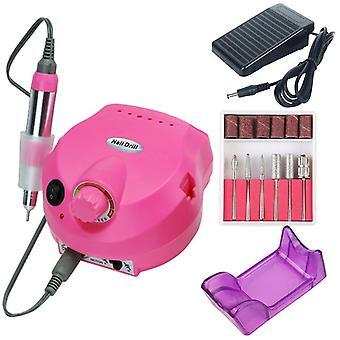 Machine électrique de perçage d'ongle - Manucure, équipement de ponçage de pédicure