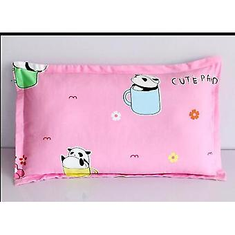 1 pieza de la funda de almohada del bebé- 30x50cm algodón cubierta de la almohada del bebé, ropa de cama de dibujos animados