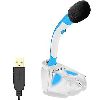 Usb 3.5mm langallinen mikrofoni pöytätietokoneelle