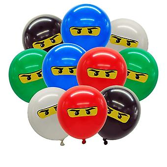 Ninjago Theme, Balloons Birthday Party Decoration