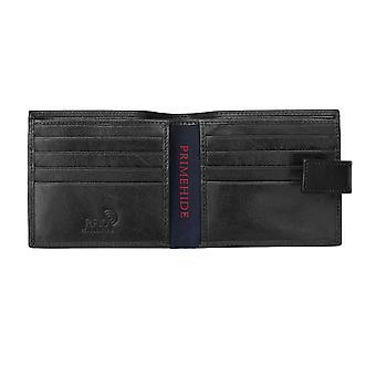 Primehide Premium Herre Lær Lommebok RFID Blokkerer Gents KortHolder 5401