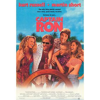 Kaptein Ron Movie plakatutskrift (27 x 40)