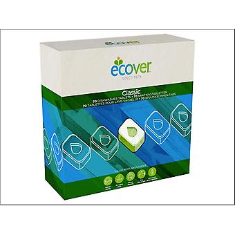 Ecover Dishwasher Tablets Xl x 70 4002180