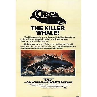 Orca Movie Poster Print (27 x 40)