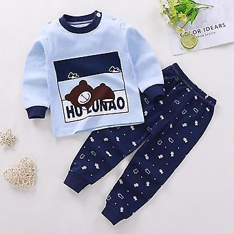 Kids Clothing, Cotton Long Sleeves T-shirts