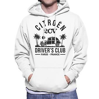 Citro n 2CV Driver's Club Black Beach Miesten'Huppari