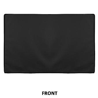Outdoor Tv Cover, Rainproof, Dustproof And Tear-proof Oxford Cloth Cover Black