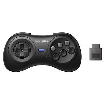 8BitDo M30 2,4G trådløs gamepad for den opprinnelige Sega Genesis og Sega Mega Drive - Sega Genesis