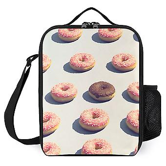 Doughnuts In A Group Printed Lunch Bags