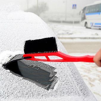 2-i-1 bil isskraber snefjerner skovl børste