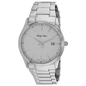 Mathey Tissot Men's Classic Silver Dial Watch - H2111AS