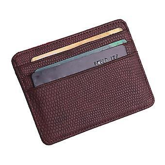 Fashion Women Pattern Bank Card Package Coin Bag Package Certificat Sac à main