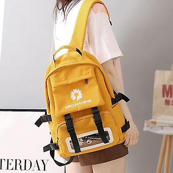 Teenage Oxford wasserdichte Schule Back Pack Blumen Mode Bagpack/transparent
