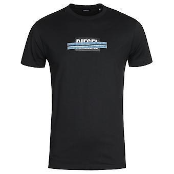 Diesel T-Diegos X40 Short Sleeve Black T-shirt
