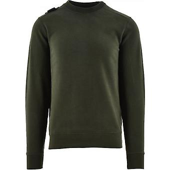 MA.STRUM Green Core Crew Sweatshirt
