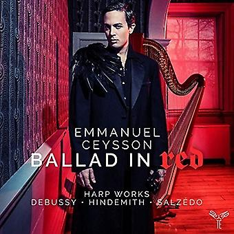 Emmanuel Ceysson - Ballad in Red [CD] Usa tuonti