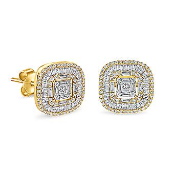 Earrings Queen Amalia 18K Gold and Diamonds