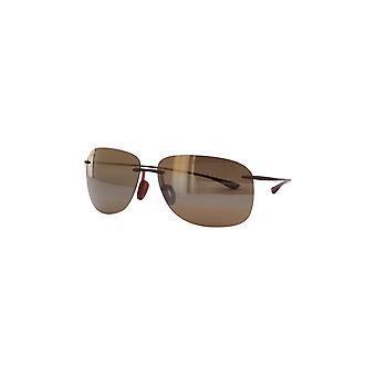 Maui Jim Hikina H445 26M Matte Rootbeer/HCL Bronze Sunglasses