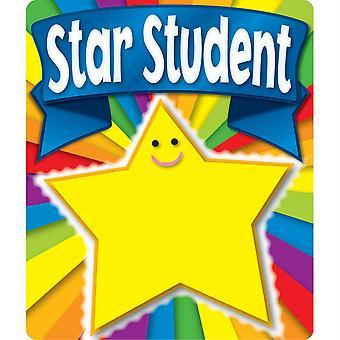 Autocollants de motivation des étudiants étoiles, 24 autocollants