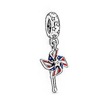 Sterling Silver Balloon Carousel Series, Charm Beaded, Fit Original Bracelet,