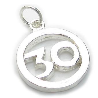 30e anniversaire Sterling Silver Charme .925 X 1 Âge Trente charmes - 4906