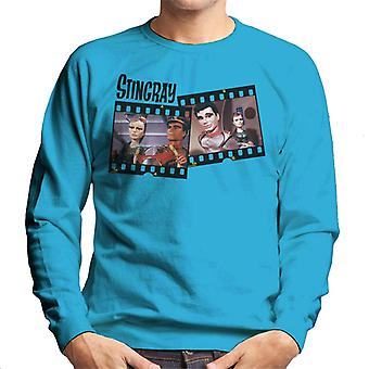 Stingray Marina And Troy Tempest Film Roll Men's Sweatshirt