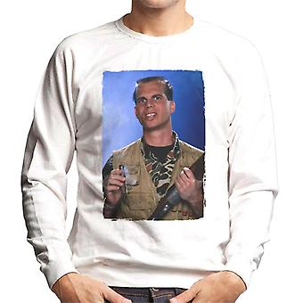 Weird Science Chet Donnelly Smoking Cigar Men's Sweatshirt